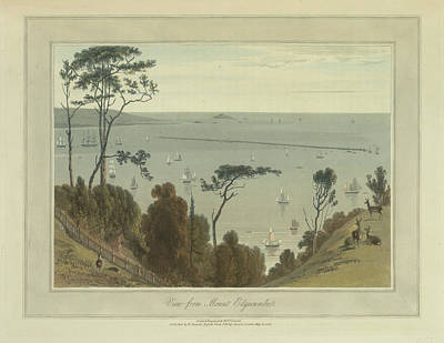 View From Mount Edgecumbe Art Print by British Library