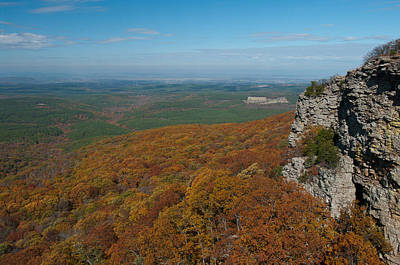 View From Mount Magazine  Ar - 2036  Art Print by Jerry Owens