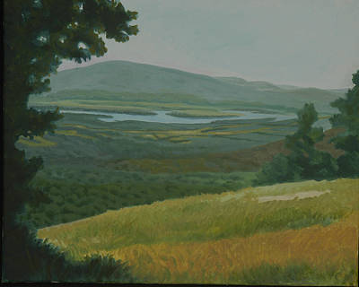 Arkansas Painting - View From Mt. Magazine by Margaret Moore Foote