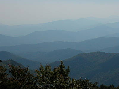 Photograph - View From Mt. Mitchell by Michael Gooch