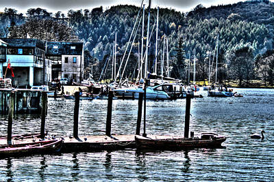 Colwyn Bay Photograph - View From My Rubber Tire by Doc Braham