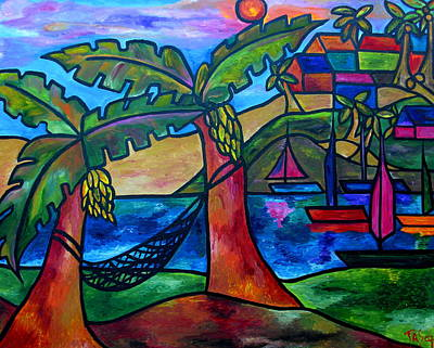 Painting - View From My Villa by Patti Schermerhorn