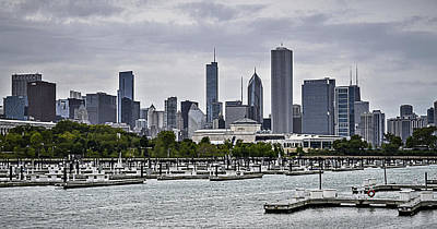 Chicago Skyline Photograph - View From Northerly Island by Julie Palencia