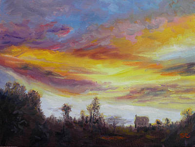 Painting - View From Notch Hill by Sharon Casavant