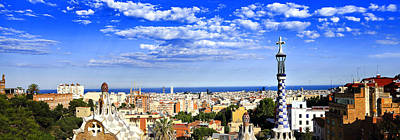 View From Parc Guell Original