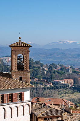Photograph - View From Perugia  by Francois Dumas