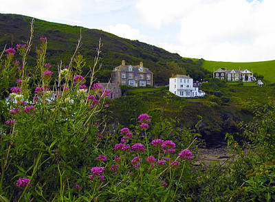 Photograph - View From Port Isaac by Kurt Van Wagner