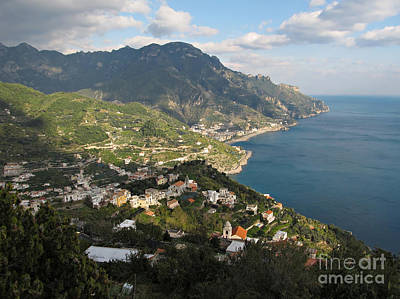 View From Ravello Art Print by Kiril Stanchev