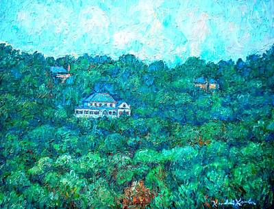 View From Rec Center Art Print by Kendall Kessler