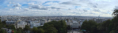 View From Sacre Coeur Original