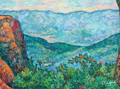 Painting - View From Sharp Top by Kendall Kessler