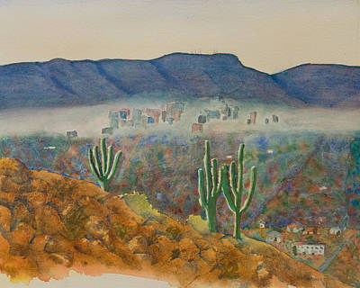 View From Shaw Butte Art Print