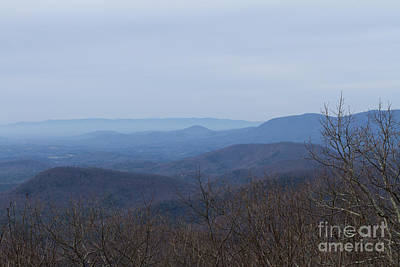 View From Springer Mountain Art Print