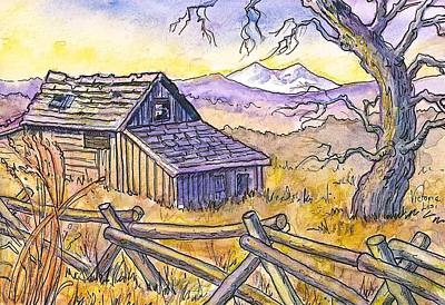 View From Strauss Cabin Road Art Print