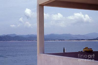 Photograph - View From The Balcony Barra De Navidad Mexico by John  Mitchell