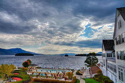 Photograph - View From The Balcony Suite - Sagamore Resort by David Patterson