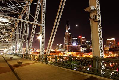 Photograph - View From The Bridge by Robert Hebert