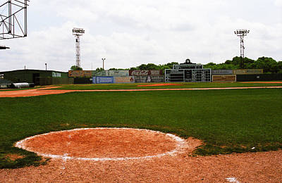 Photograph - View From The Dugout by Frank Romeo