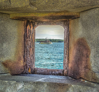 View From The Fort Art Print by Jane Luxton