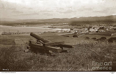 Photograph - View From The Fort Presidio Of Monterey Circa 1889 by California Views Mr Pat Hathaway Archives