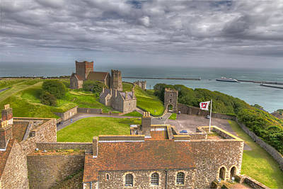 View From The Great Tower Art Print by Tim Stanley