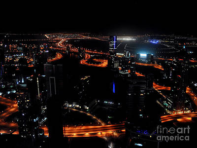 View From The Jw Marriott Marquis Dubai Hotel Art Print by Graham Taylor