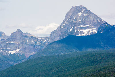 Photograph - View From The Lake Gnp by Michael Gooch