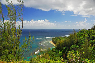 Photograph - View From The Napali Trail by Lynn Bauer