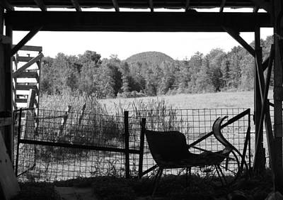 Photograph - View From The Old Shed by Ishana Ingerman