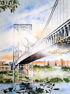 View From The Palisades Original by Brian Degnon