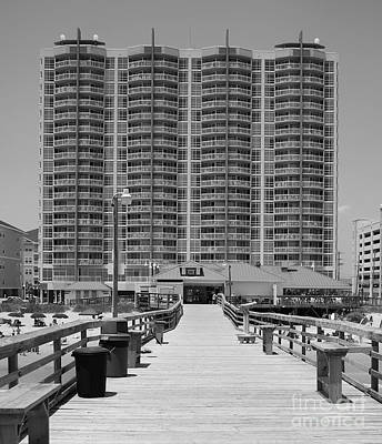 Photograph - View From The Pier by Mark Spearman