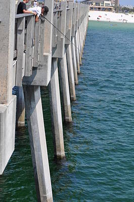 Photograph - View From The Pier by Vonda Barnett