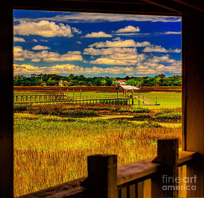 View From The Porch Art Print