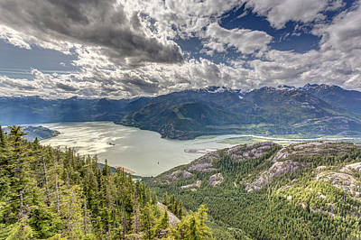 Photograph - View From The Sea To Sky Gondola by Pierre Leclerc Photography