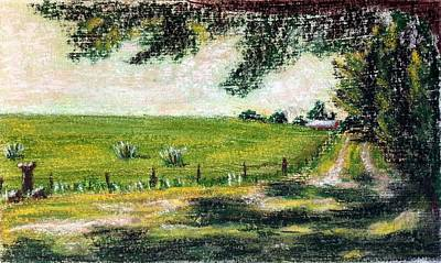 Painting - View From The Shade 2 by Brenda Stevens Fanning