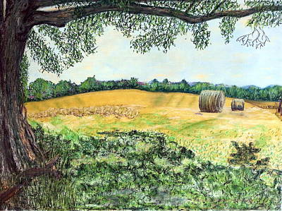 Painting - View From The Shade by Brenda Stevens Fanning