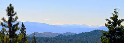 Photograph - View From The Sierra Nevada Mountains  by Brent Dolliver