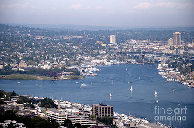 Photograph - View From The Space Needle by Brenda Kean
