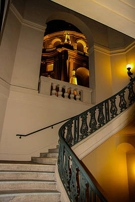 Photograph - View From The Stairs by Robert Hebert