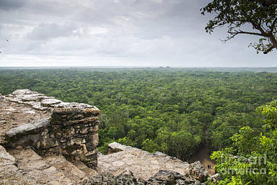 Mayan Photograph - View From The Top by Yuri Santin