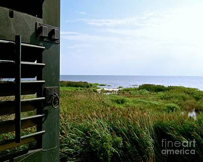 Photograph - View From The Window At East Point Light by Nancy Patterson