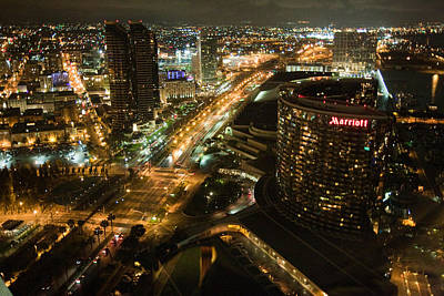 Art Print featuring the photograph View From Top Of The Hyatt by Nathan Rupert