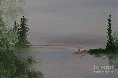 Painting - Big Bay On Lake Superior by Penny Stroening