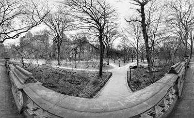 Central Park Photograph - View From Transverse by Dave Beckerman