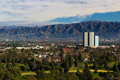 Angeles Forest Photograph - View From Universal Studios Hollywood by Heidi Smith
