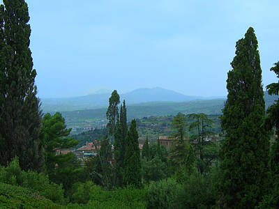 Photograph - View From Villa D'este by Richelle Munzon