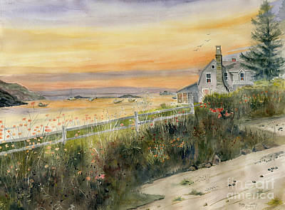 Painting - View From Wharton Ave  by Melly Terpening