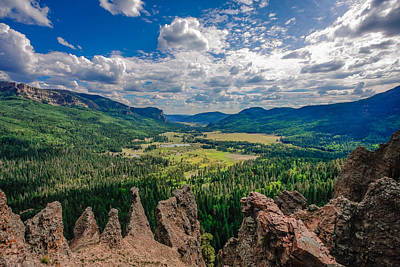 View From Wolf Creek Pass Art Print