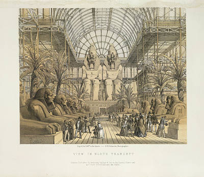 Hyde Park Photograph - View In North Transept by British Library