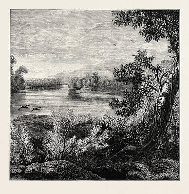 Pennsylvania Drawing - View In Pennsylvania, United States Of America by American School